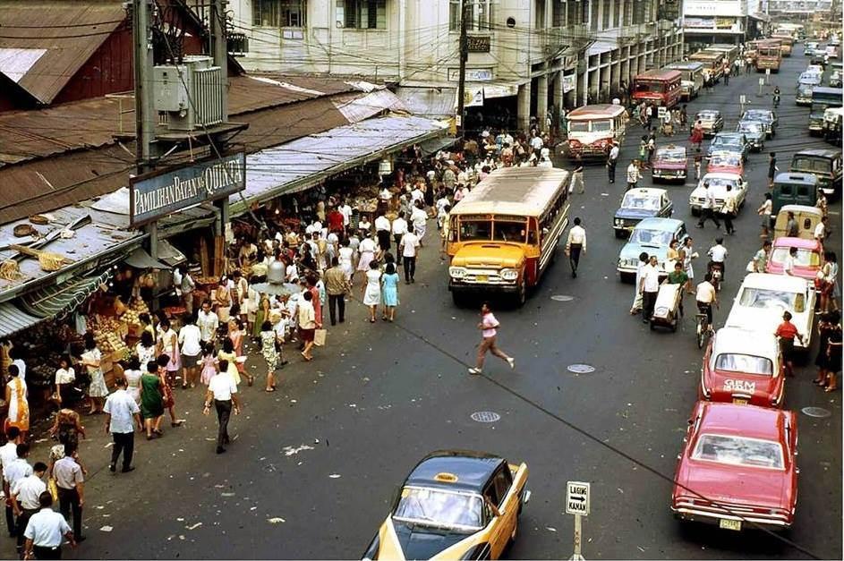 1969 Manila street scene