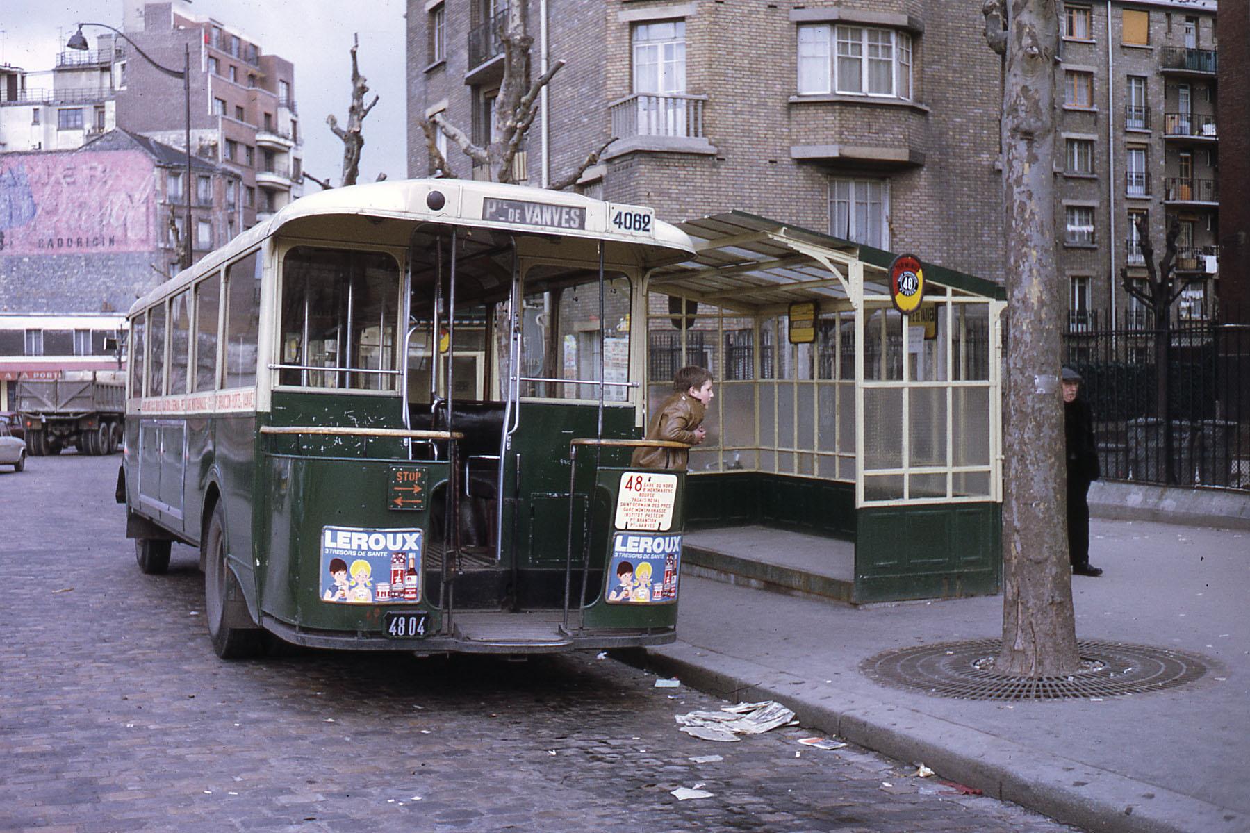 1969 Paris RATP autobus TN4 Hp