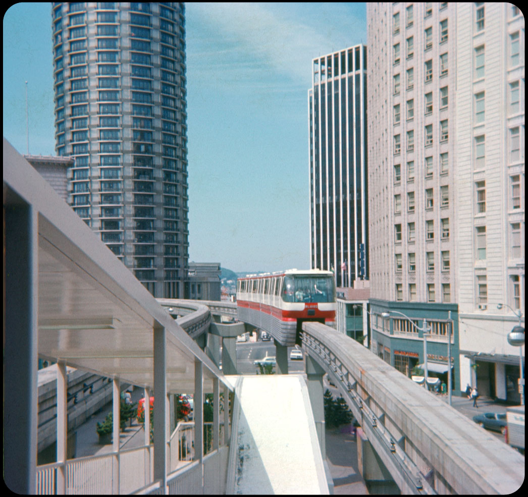 1969 Seattle Center Monorail