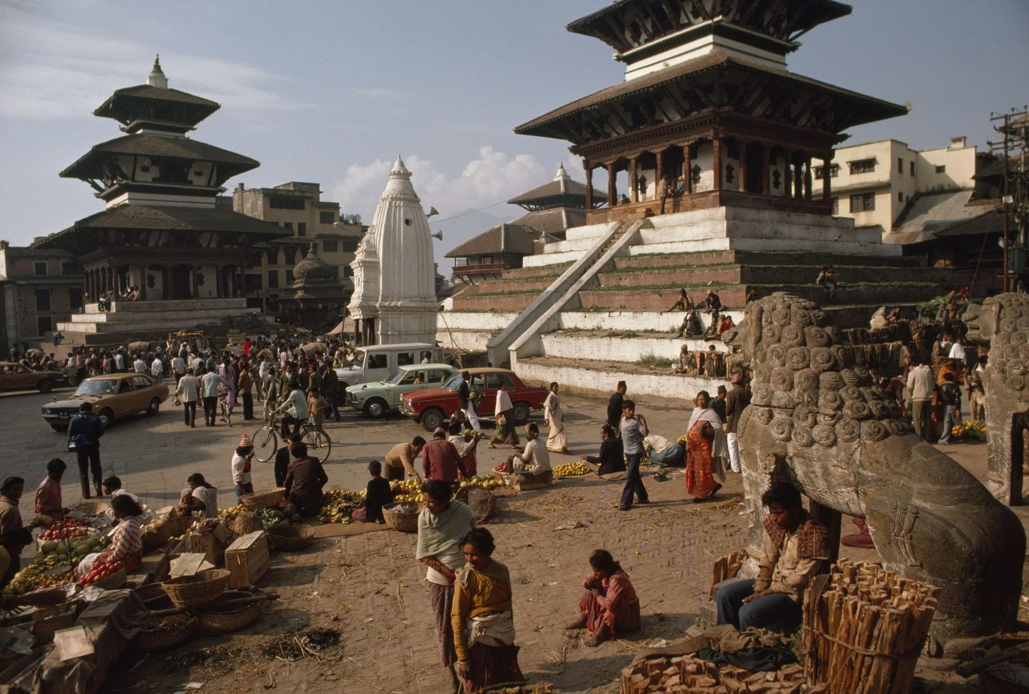 1979 Kathmandu Valley, Nepal (Photo by John Scofield