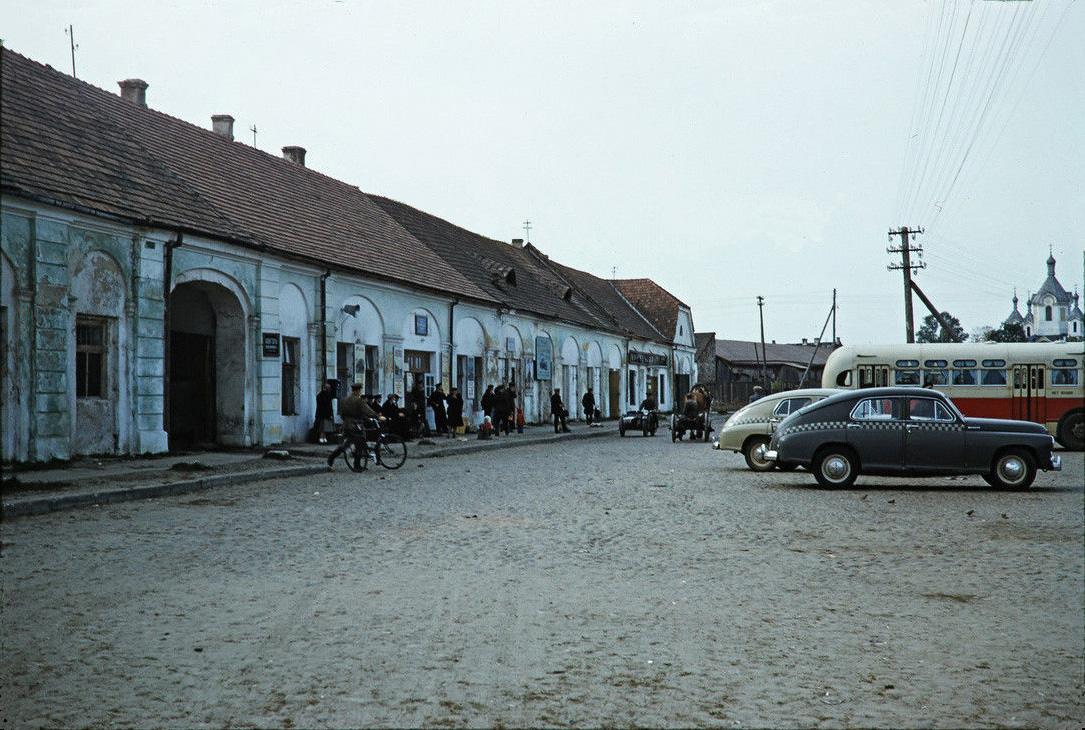 Автостанция в Бресте, 1956