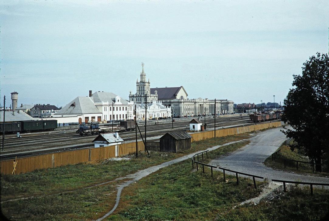 Вокзал в Бресте, 1956 год