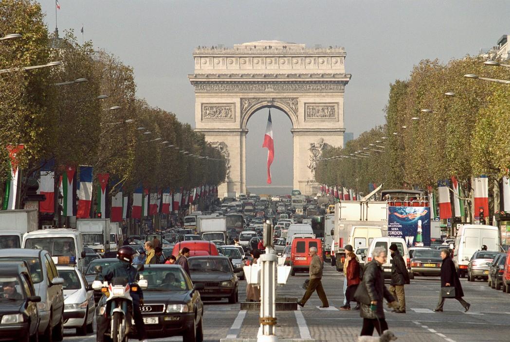 1999 Paris by Bruno Barbey