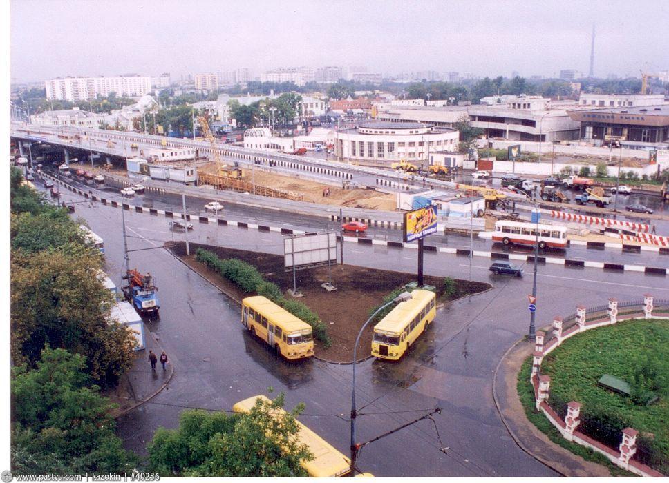 1999 Москва новорижская эстакада