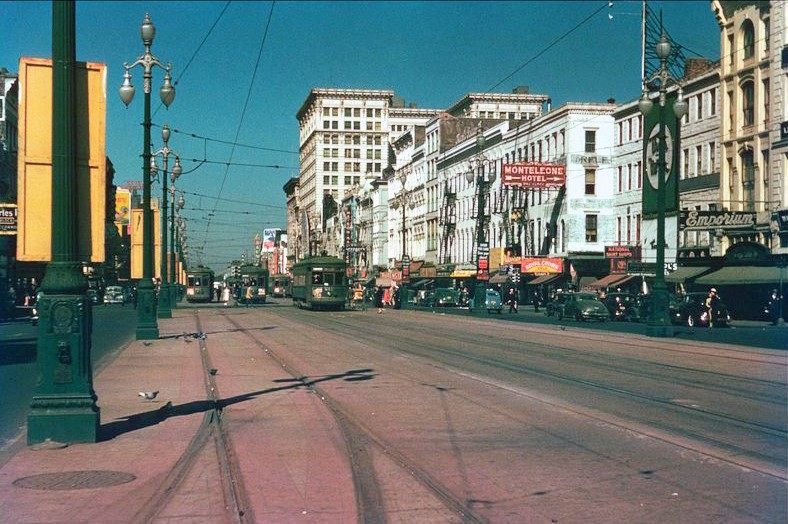 1944 New Orleans Canal street
