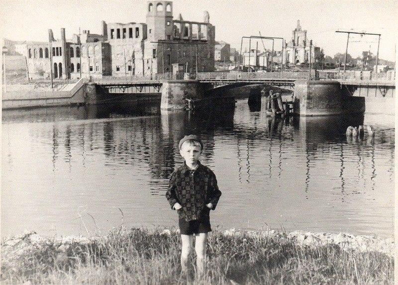 1960е Дровяной мост