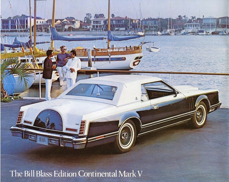 1979 Lincoln Mark V Bill Blass brochure
