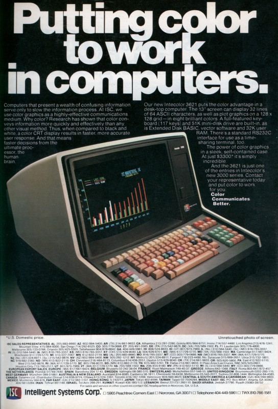 1979 Putting color to work in computers