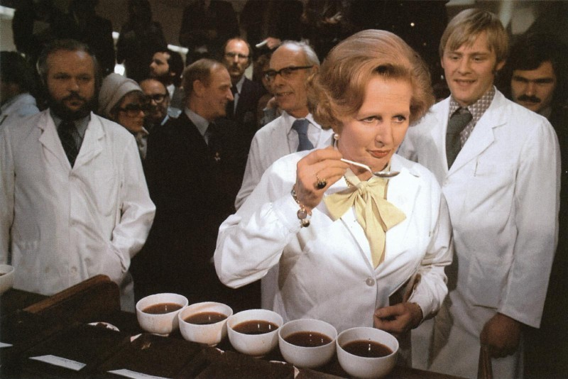 Margaret Thatcher campaigning for the Conservative Party - 1979