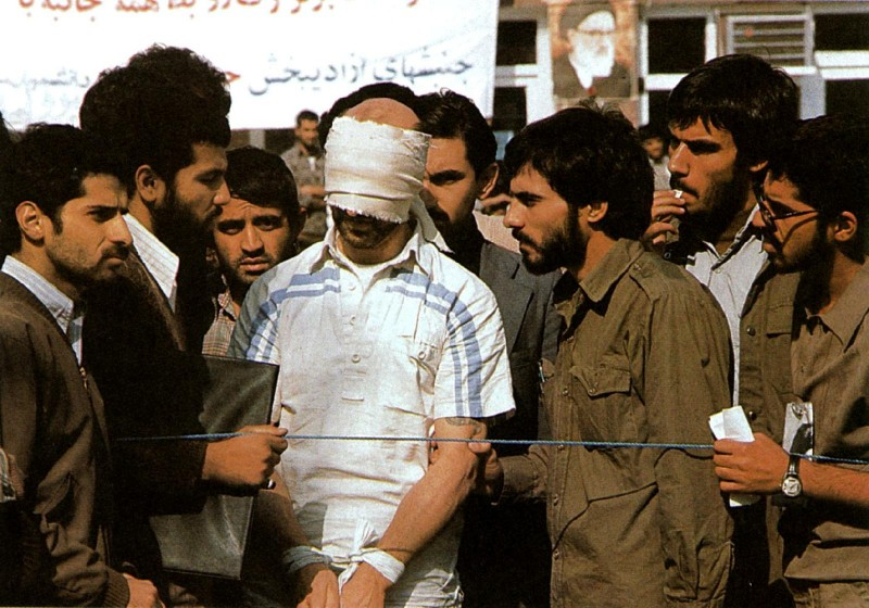 One of 52 American hostages seized by radical Iranian Muslim youth - November 4 1979