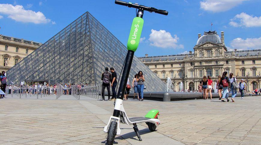 Франция ввела правила для электросамокатов