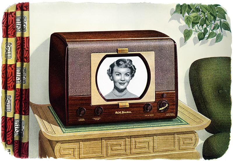1949 RCA Anniversary Model Television
