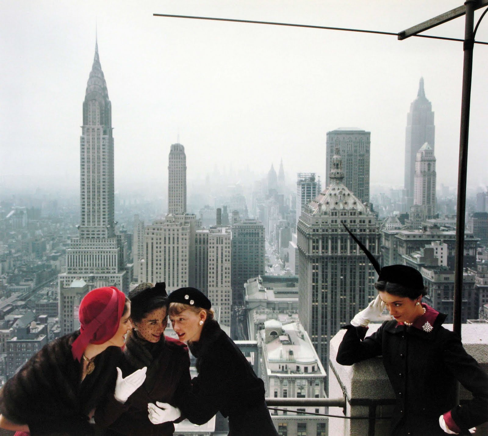 Norman Parkinson young velvets young prices new york vogue 1949