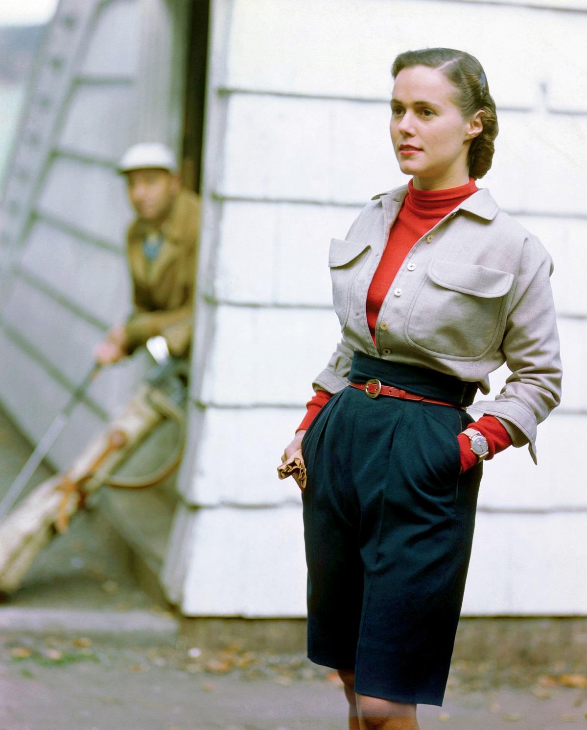 Из коллекции летней одежды. Фото Женевьев Нейлор, 1949 год