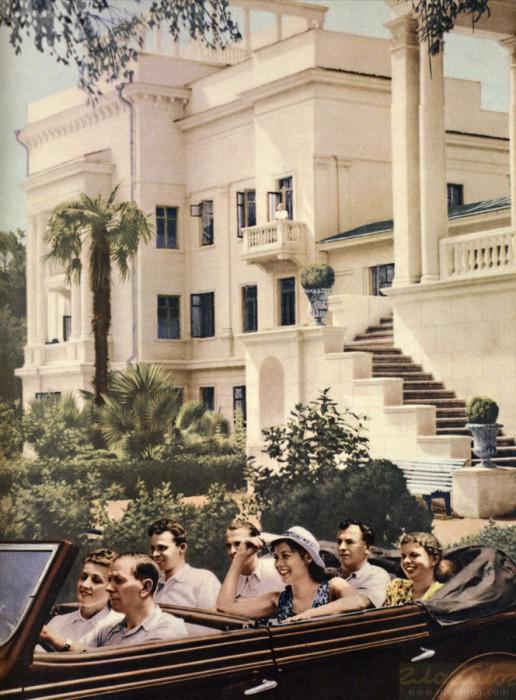 1949 Фотография из журнала СССР на стройке