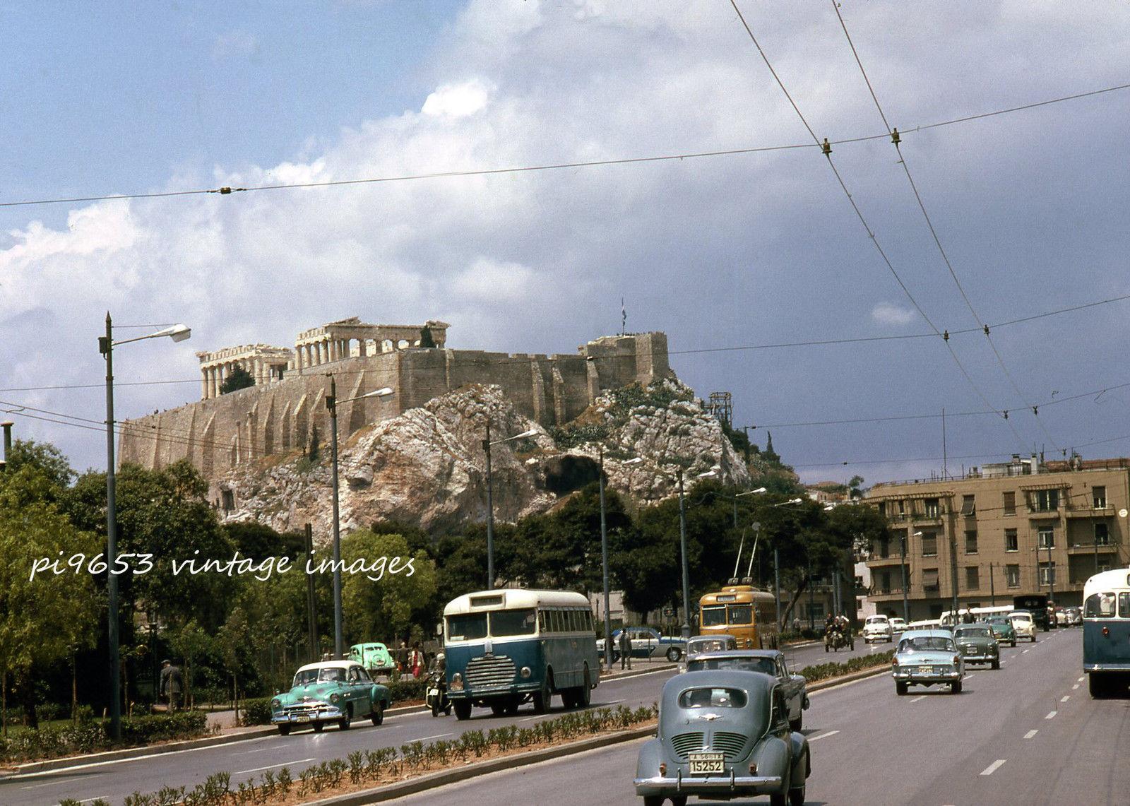 1961-62 Athens Acropolis and Konstantinou St.