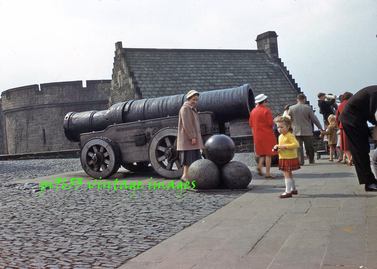 1950s Scotland Edinburgh Castle Mons Meg Cannon