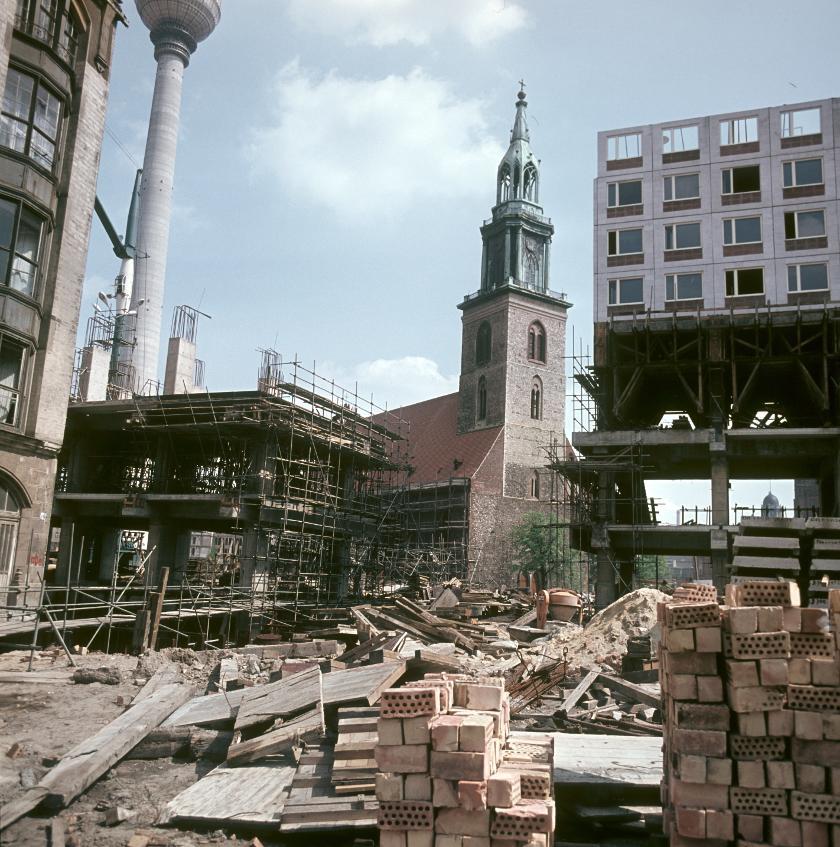 1969 Berlin Nikolaiviertel by Klaus Morgenstern