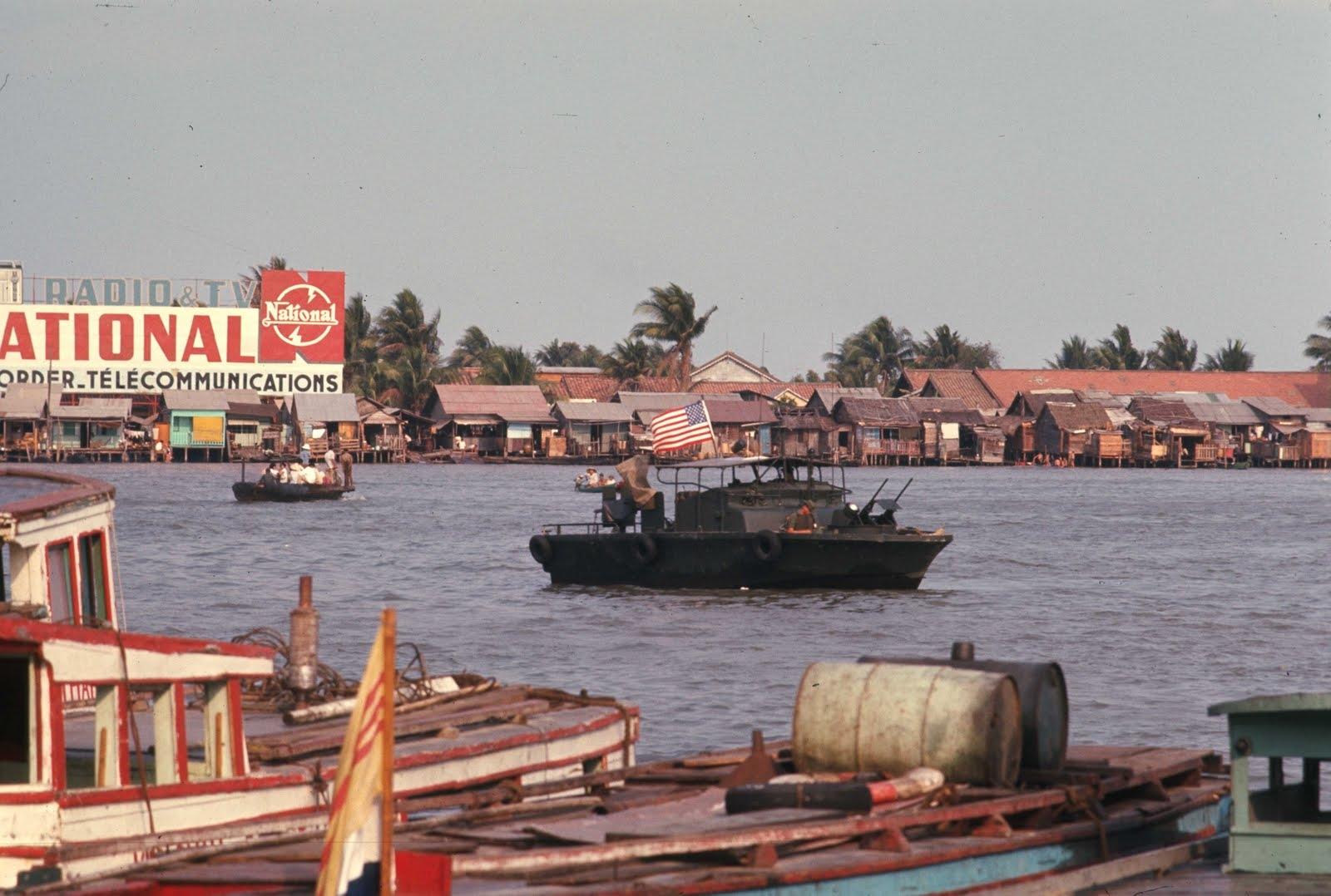 1969 Saigon by Brian Wickham Patrol