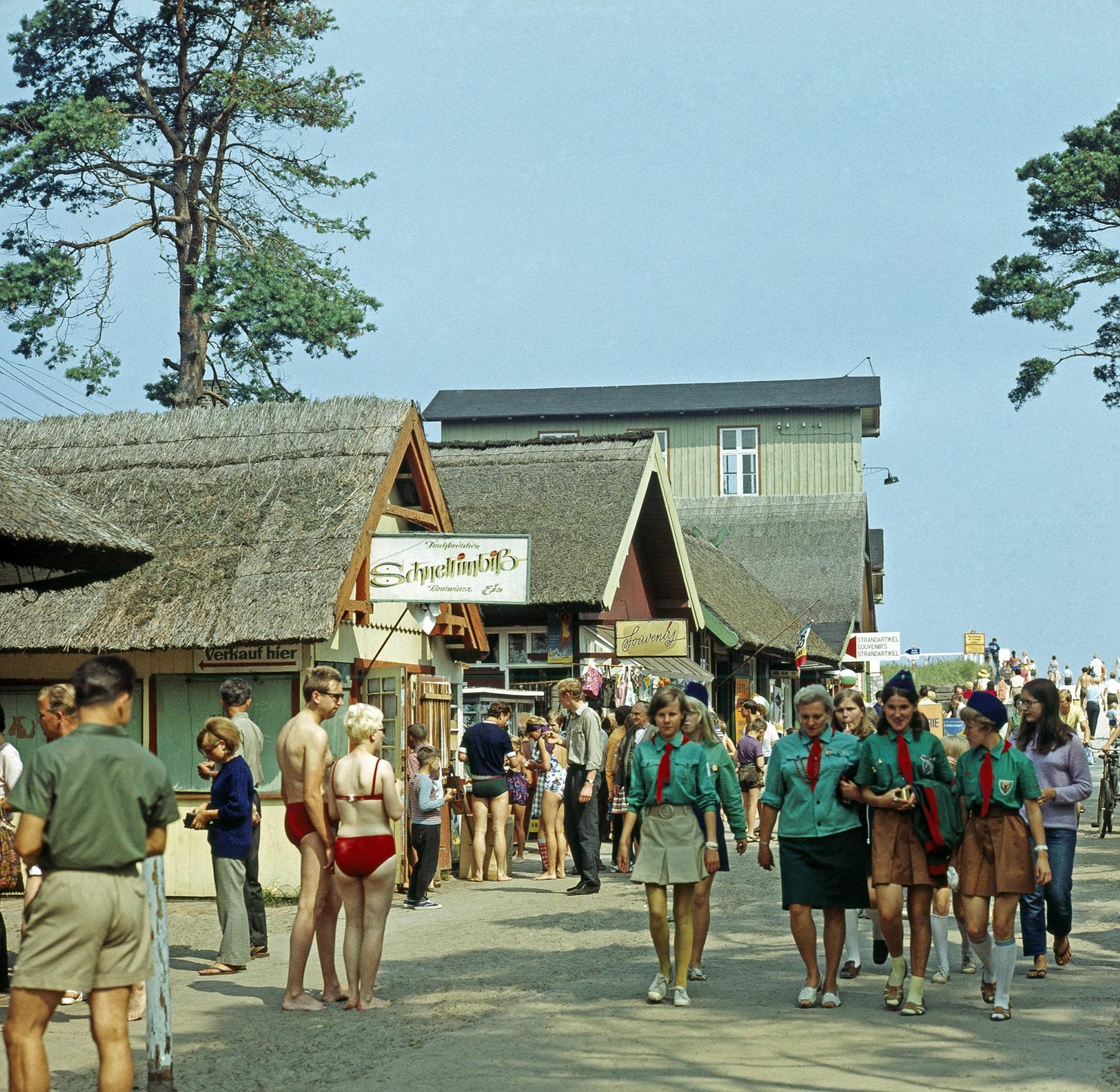 1969 ГДР, Преров, курорт на Северном море