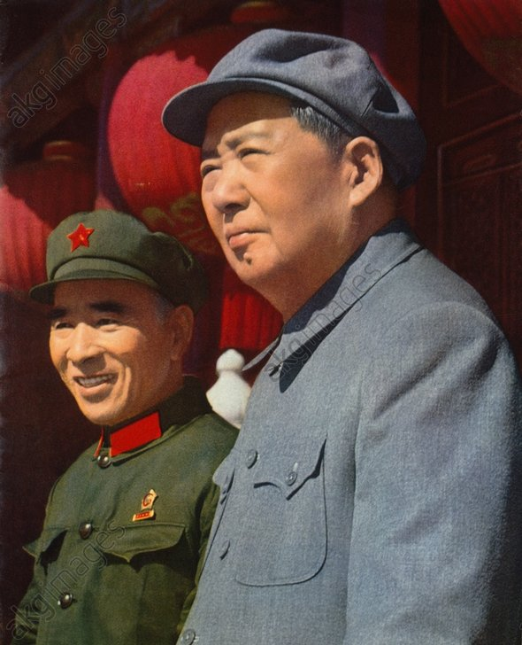1969 Мао и Линь Бяо