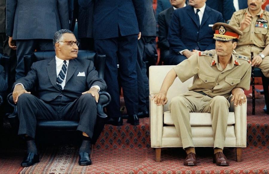 1969 Насер и Каддафи Thomas-Billhardt