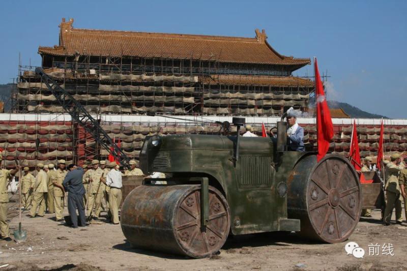 1969 Реконструкция башни Тяньаньмэнь