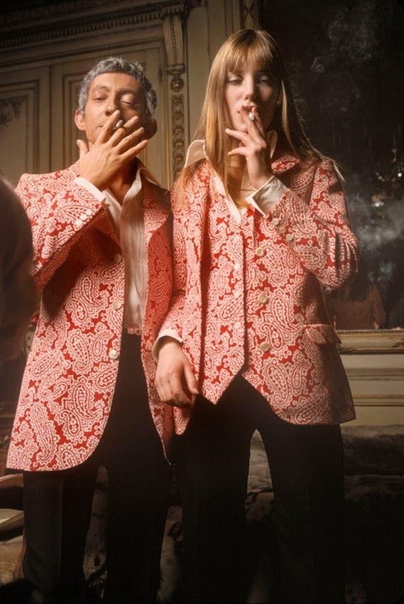 1969 Серж Генсбур и Джейн Биркин