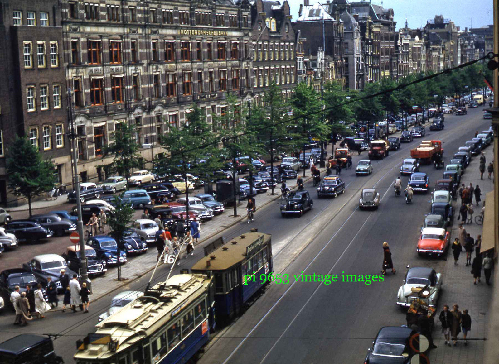 1950s Amsterdam Rokin Street