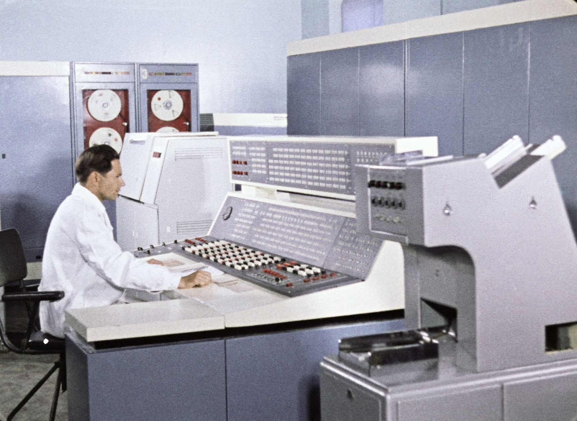 1969 Coordinating computer center' for soviet space mission, venera 5 and 6