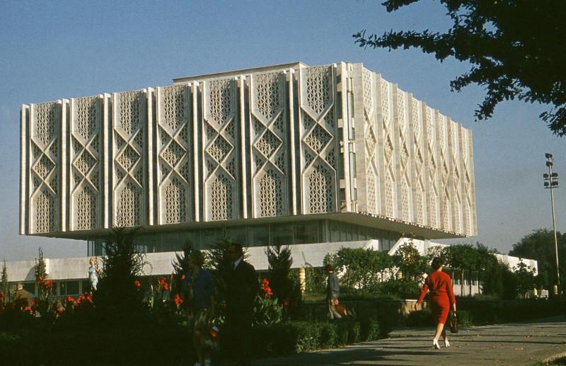 1969 Lenin Museum in Taschkent, Frank Baumgart