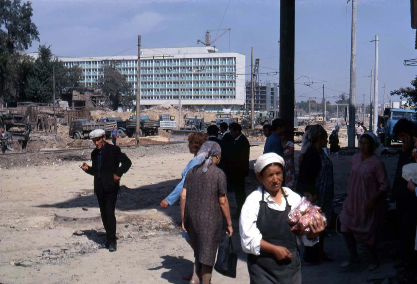 1969 Tashkent by Snider Irving