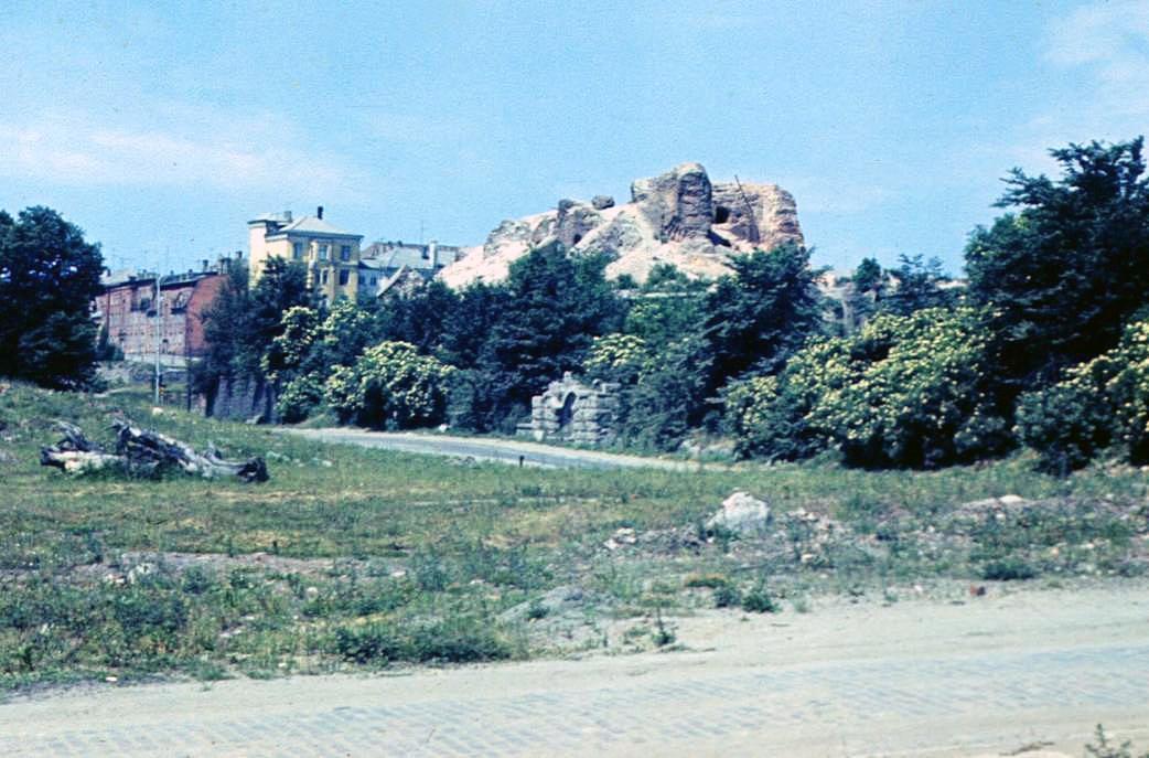 1969 Заканчивается снос Королевского замка в Калининграде