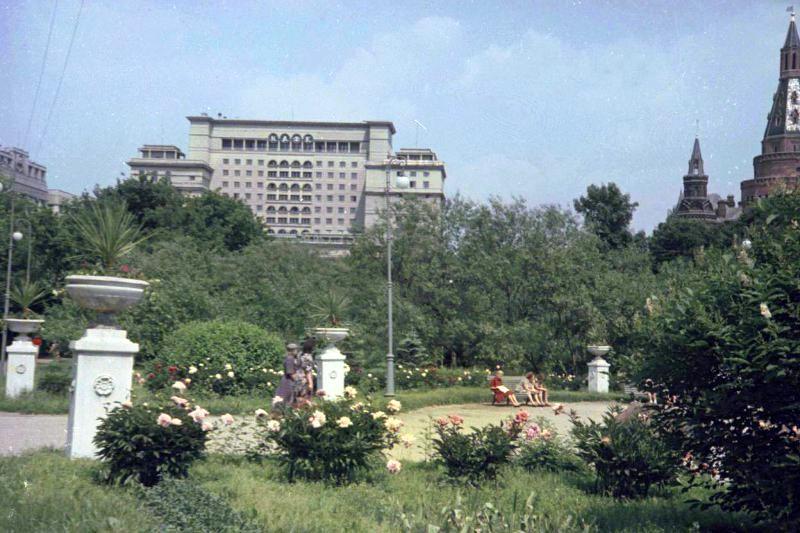 1952 Александровский сад. Петков И.2