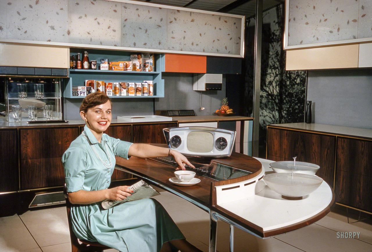 «Чудесная кухня будущего» на американской Национальной выставке в Москве. Март 1959 года
