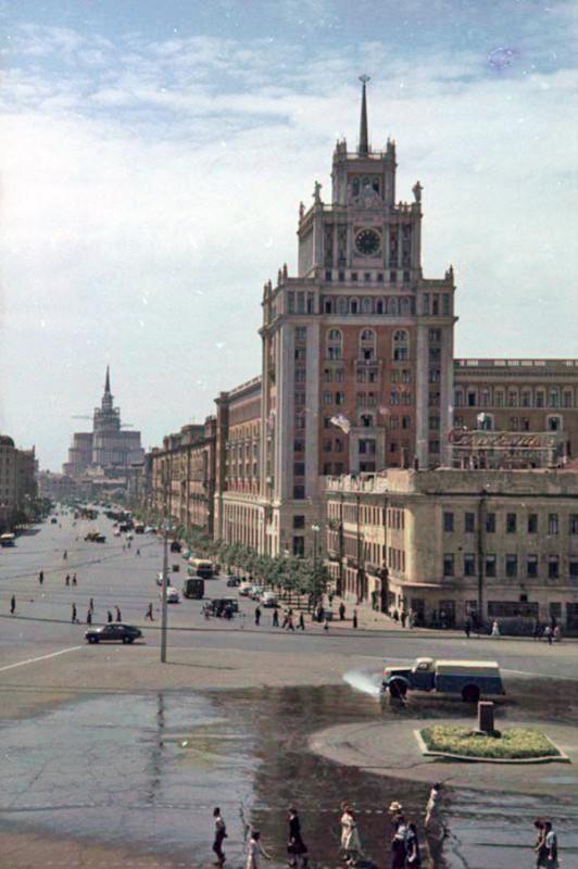 1952 Площадь Маяковского. Петков И.2
