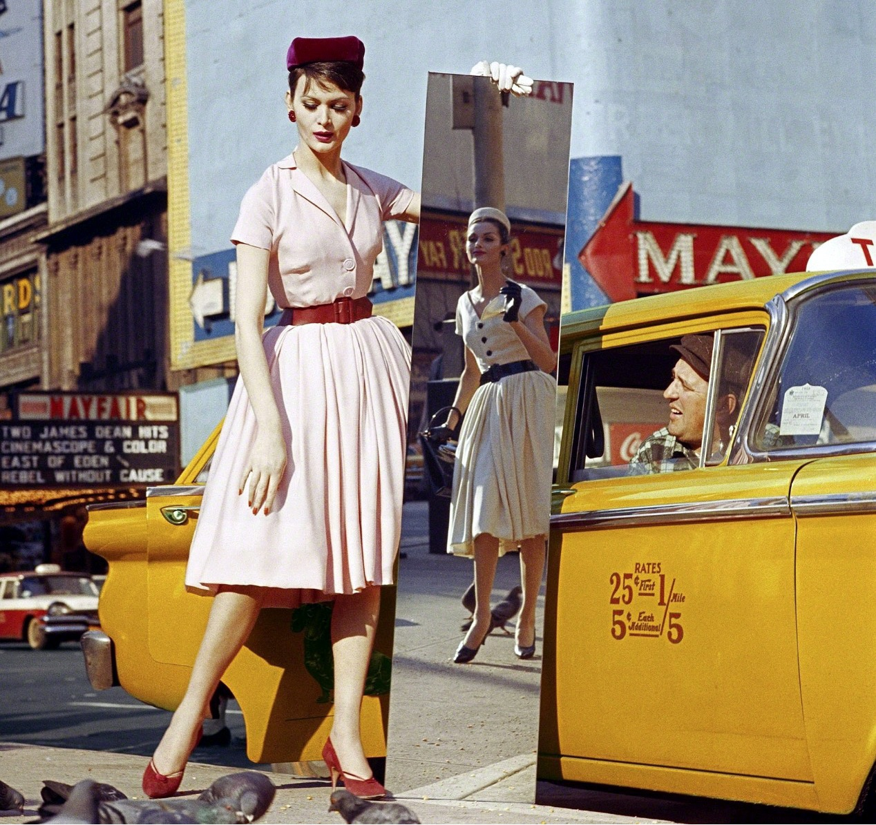 1959 NY Автор фото - Уильям Кляйн