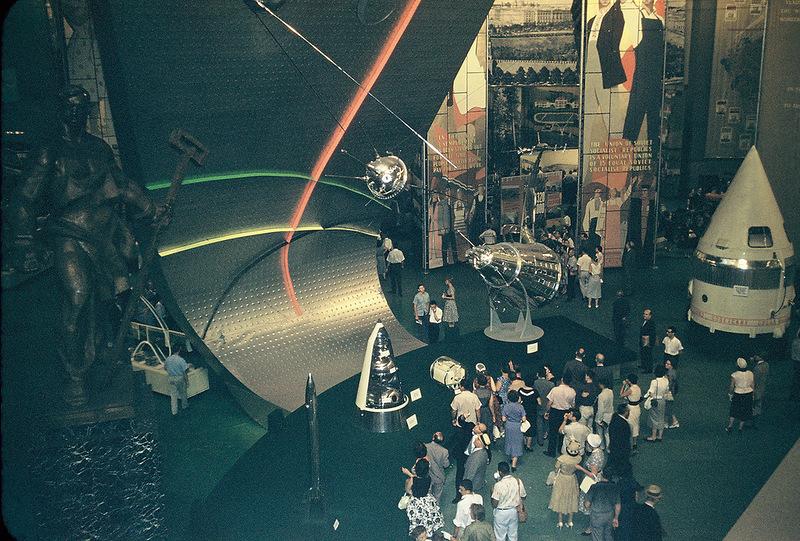 1959 Советская выставка в Нью-Йорке1