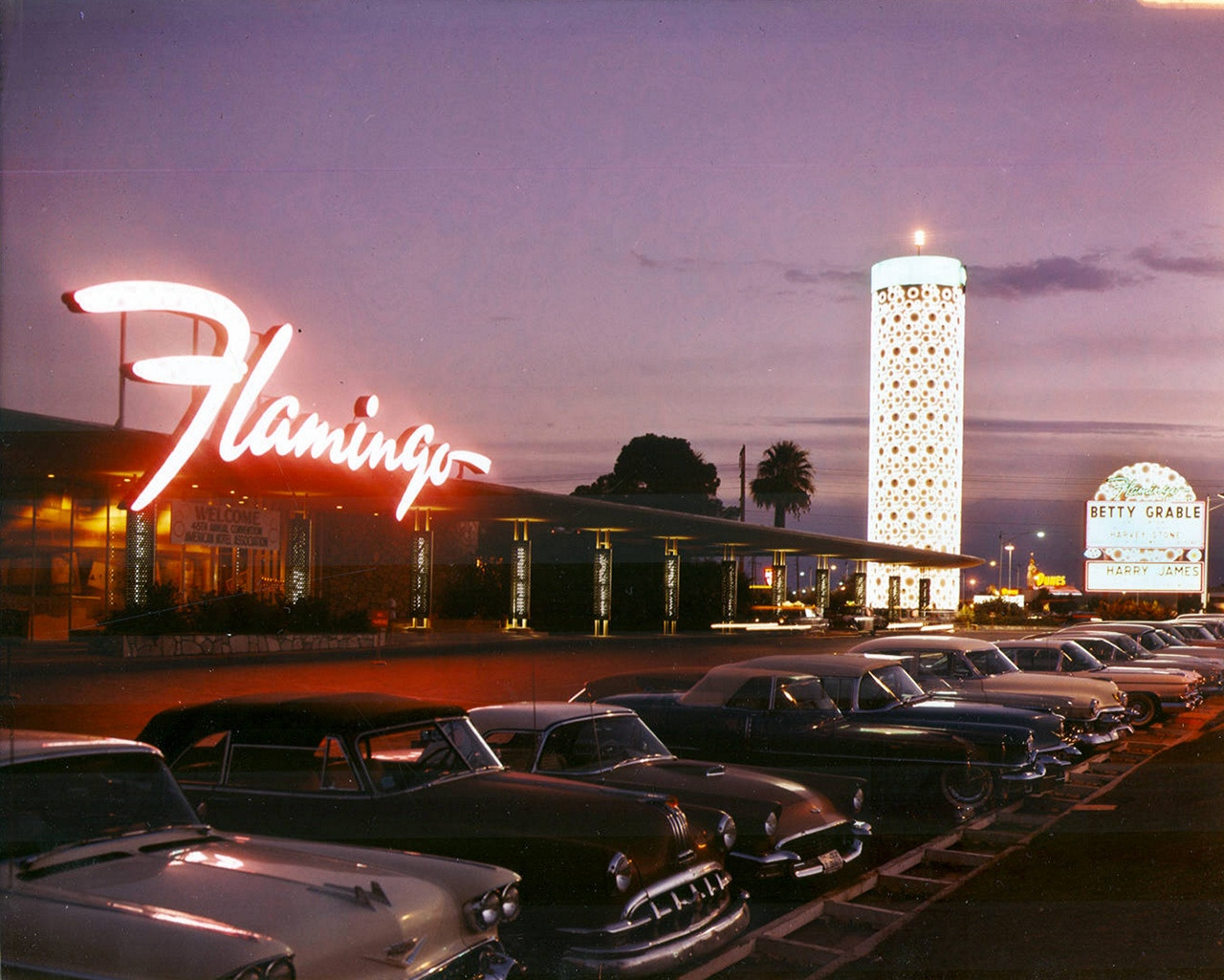 1959, September. Flamingo. Las Vegas