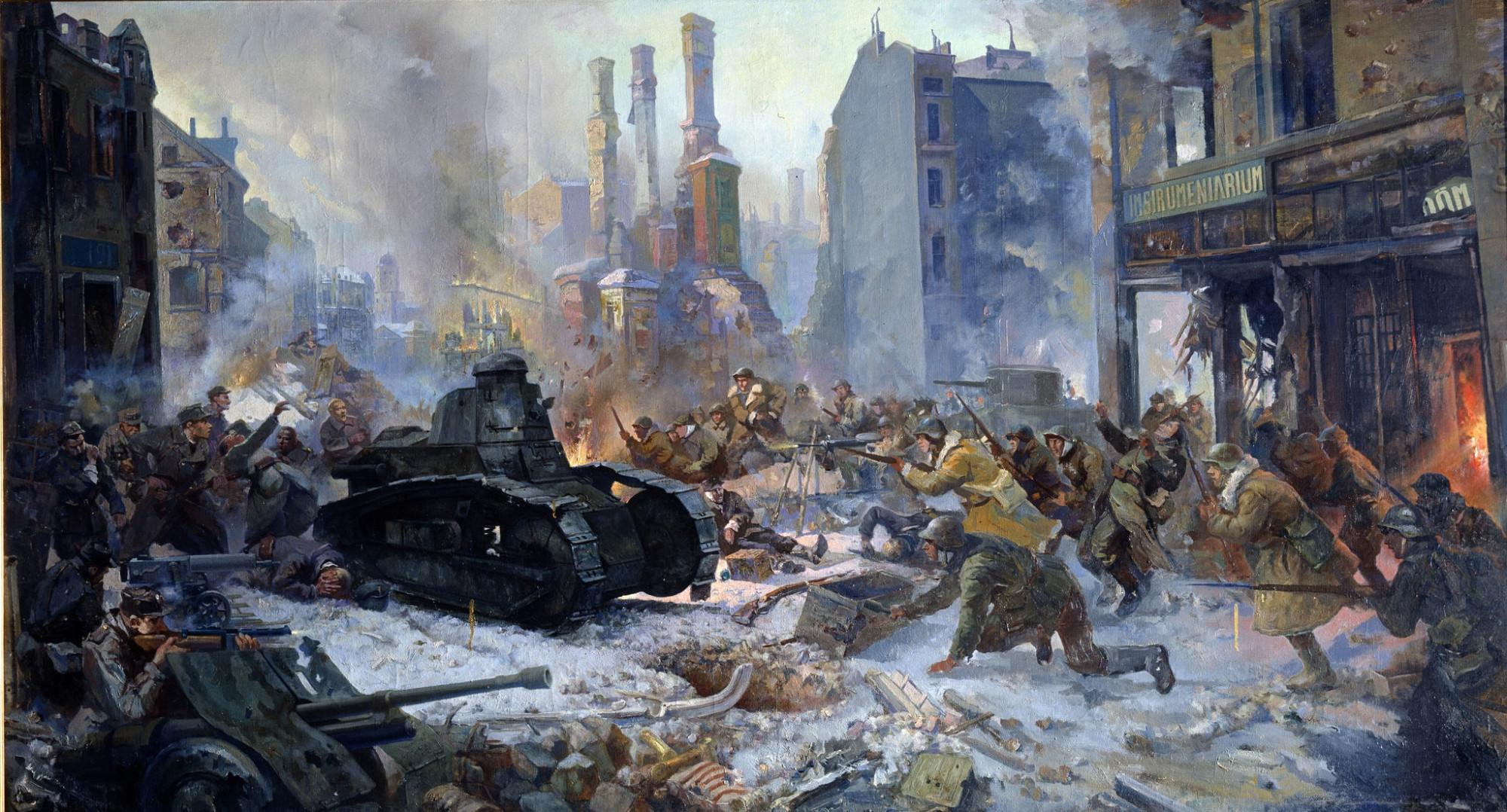 1940 штурм Выборга