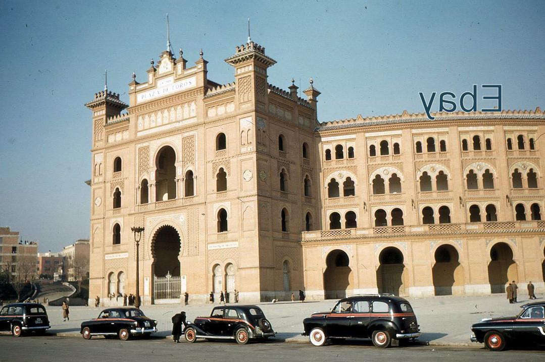 Из кодахромного наследия. Мадрид 1950-х. Испания и Каталония,kodachrome,Такси,1950-е