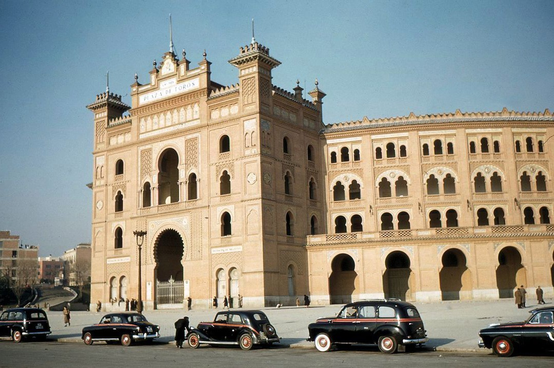 1950s Madrid Plaza de Torros
