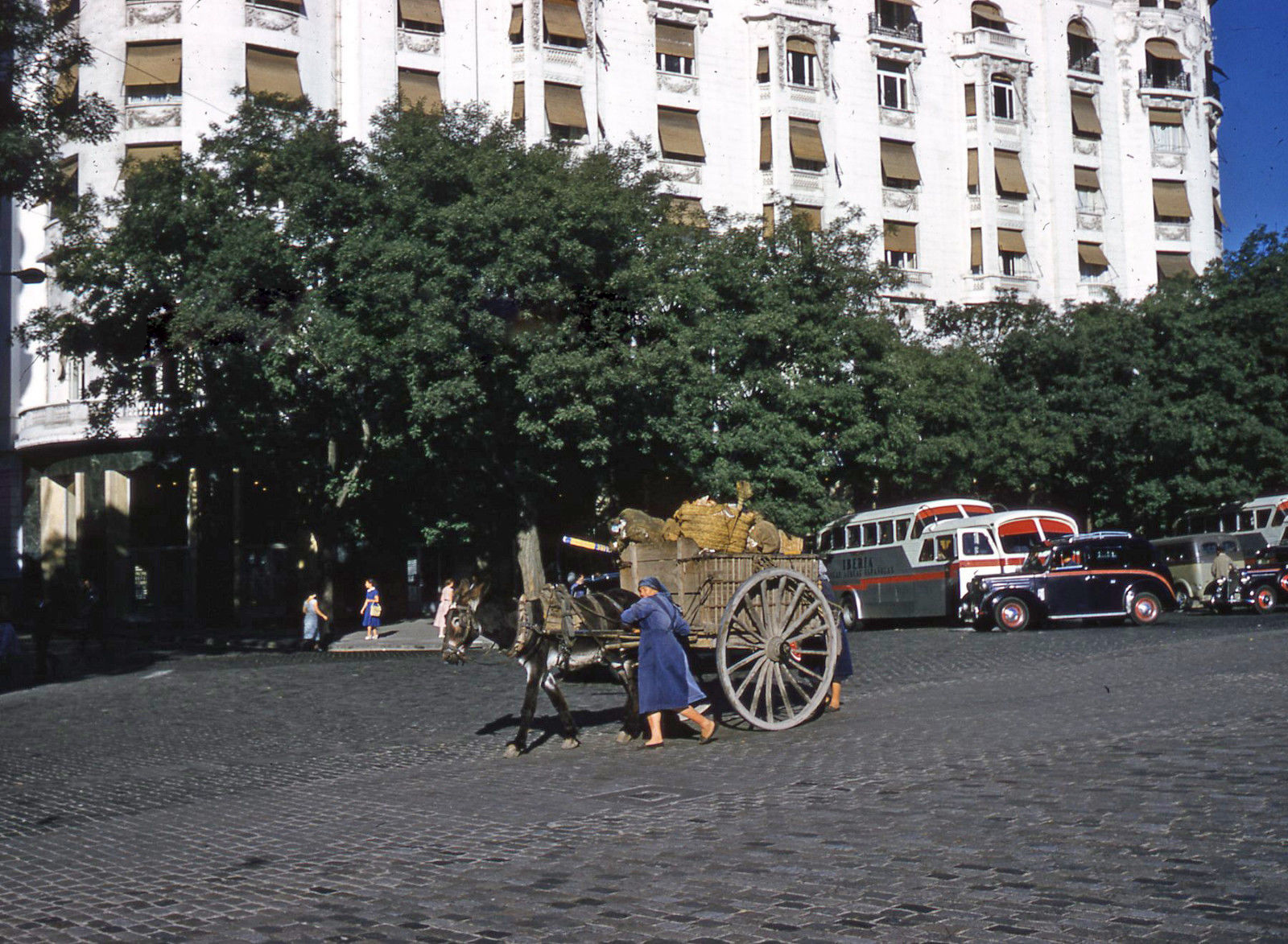 1950s Madrid Palace Hotel