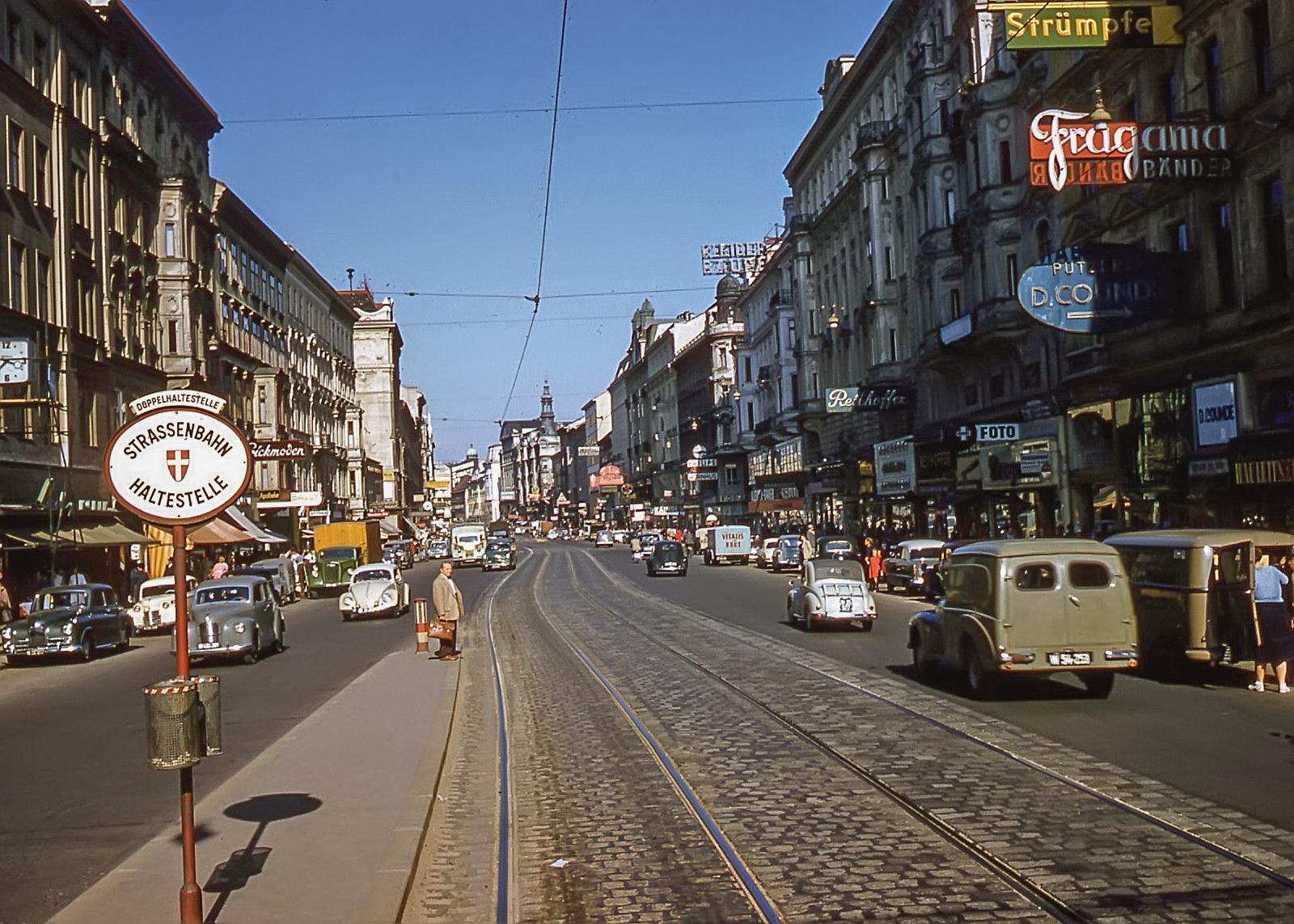 1950s Wien Mariahilferstrasse3