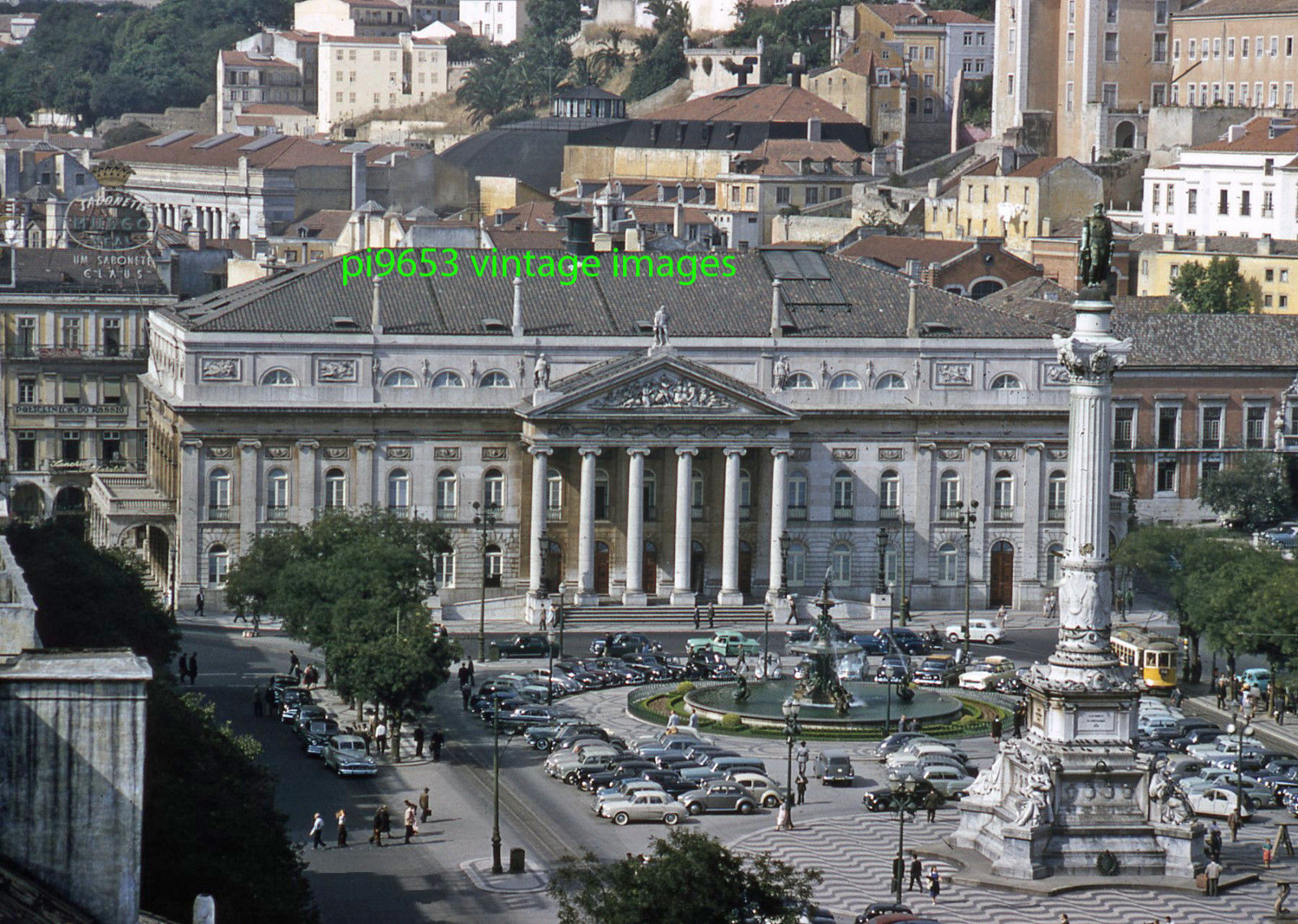 1950s Lisbon National Theater Queen Maria II
