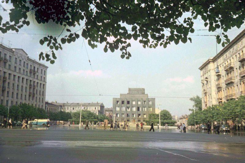 1952 Советская площадь (вид от Моссовета). Петков И.2
