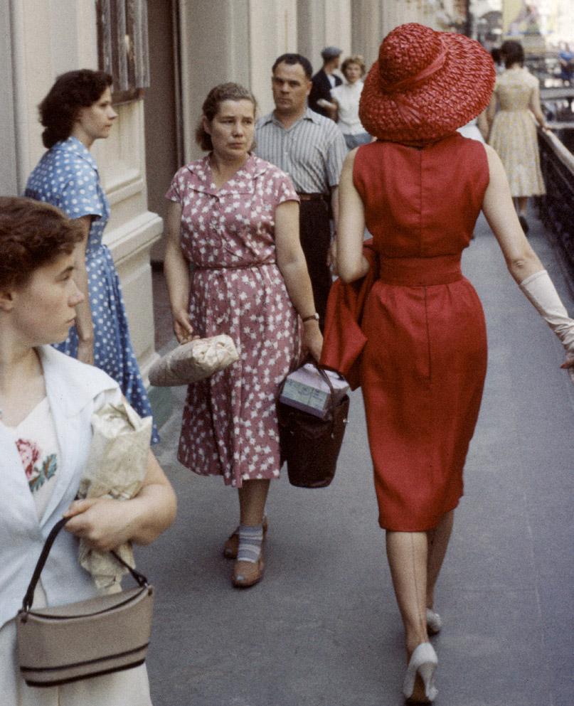 Модели Диор в Москве (1959 год)