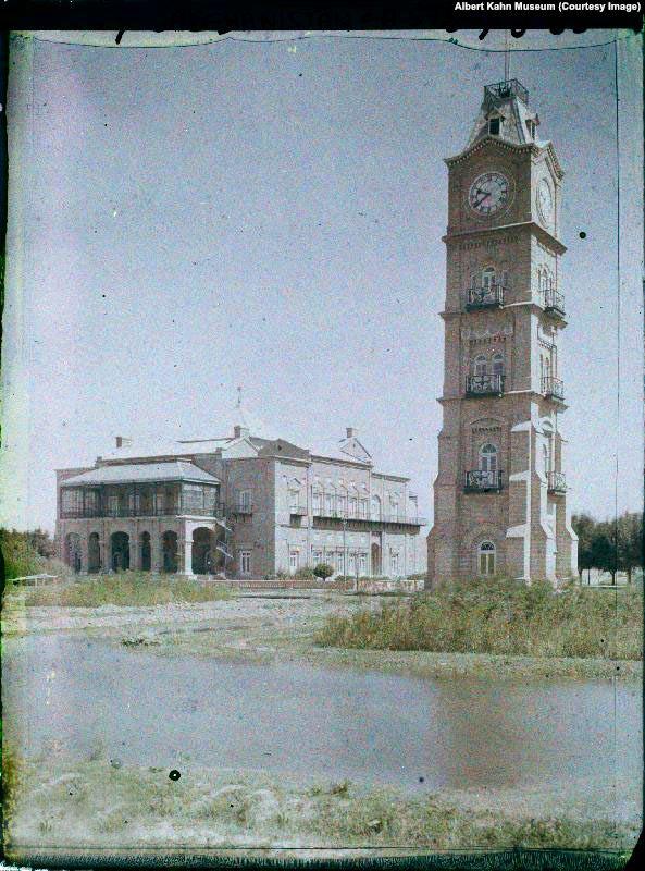 Clock Tower of Dilgosha Palace2