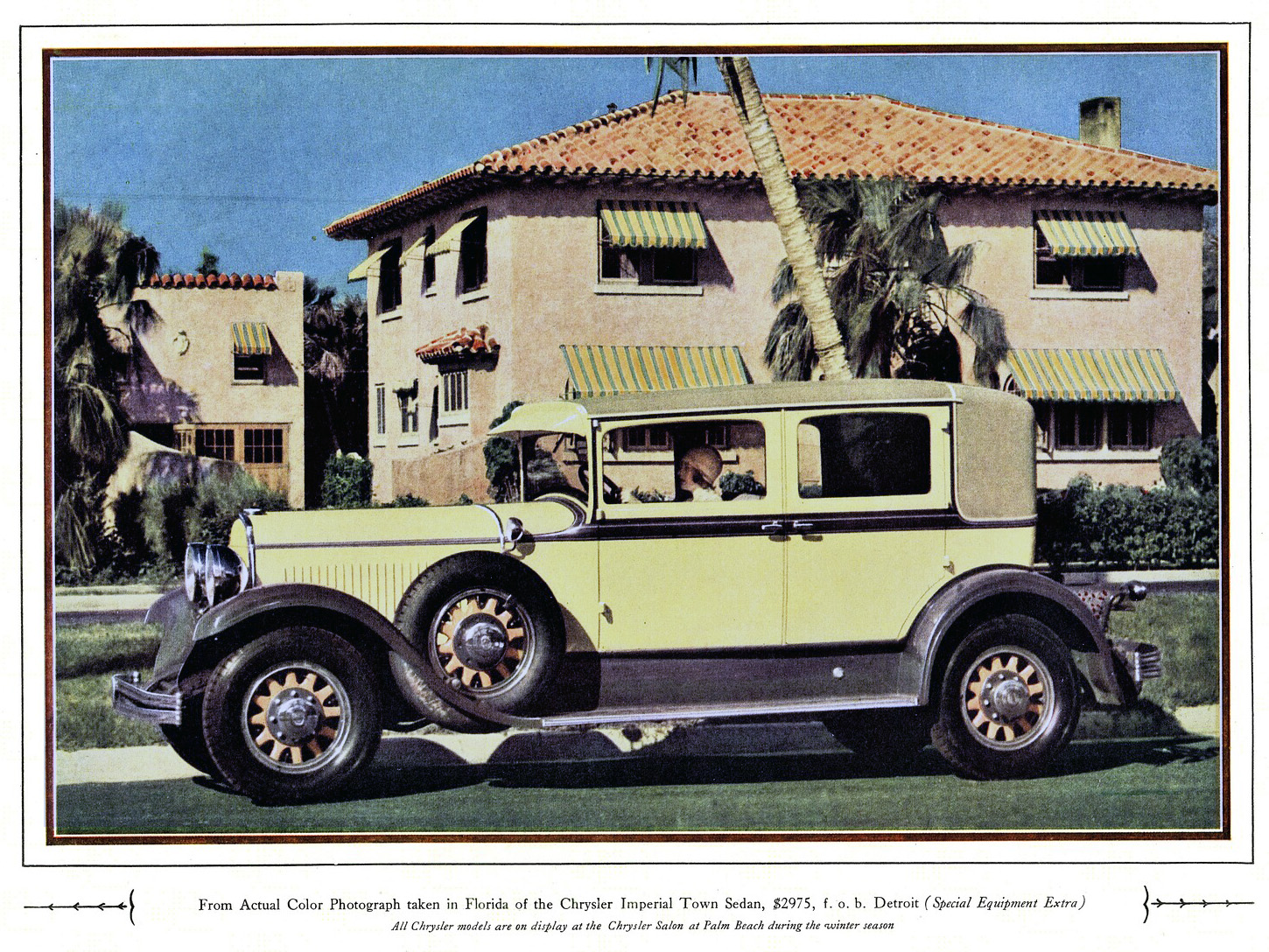 1929 Chrysler Imperial Town Sedan