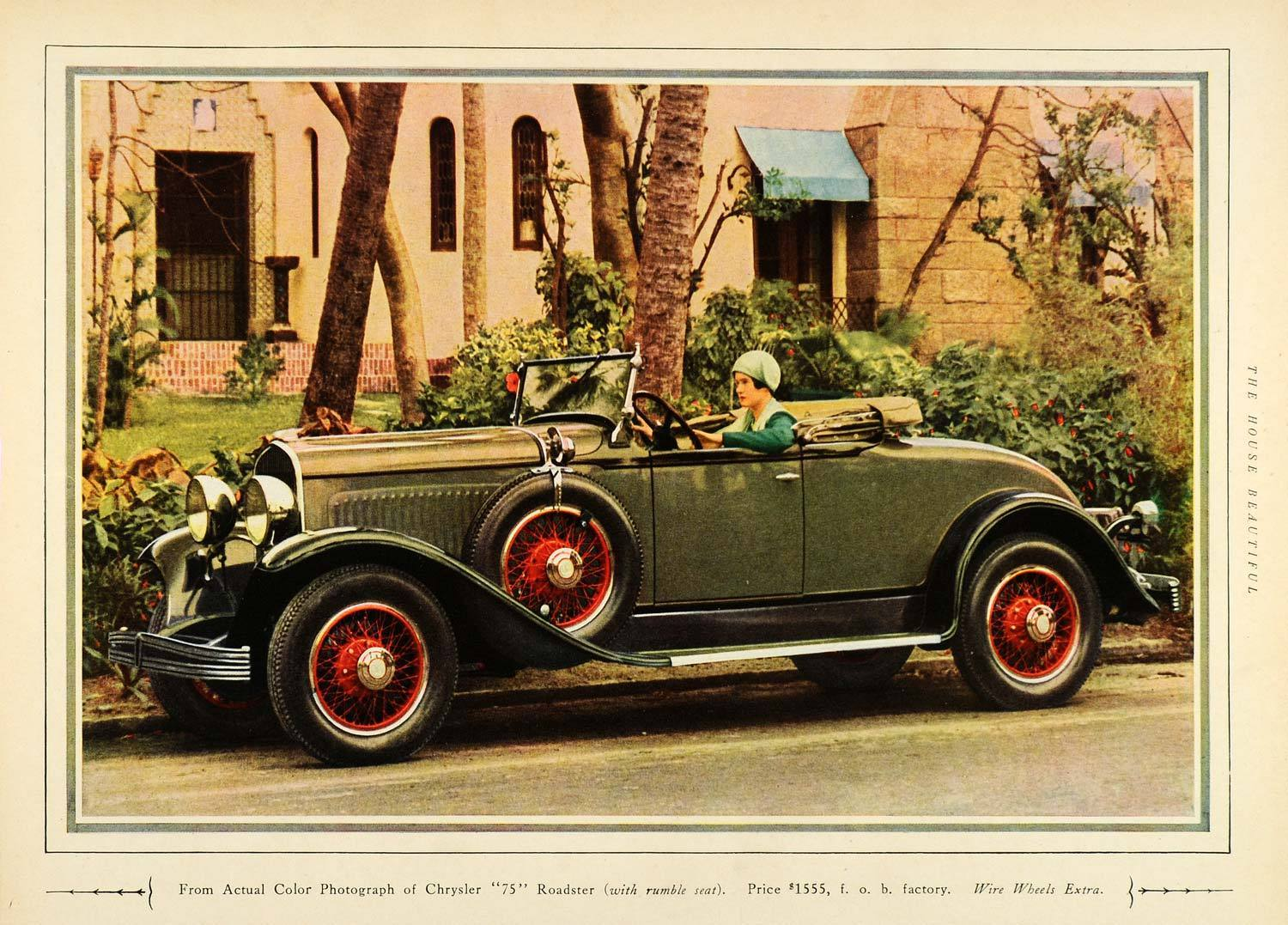 1929 Chrysler Series 75 Roadster